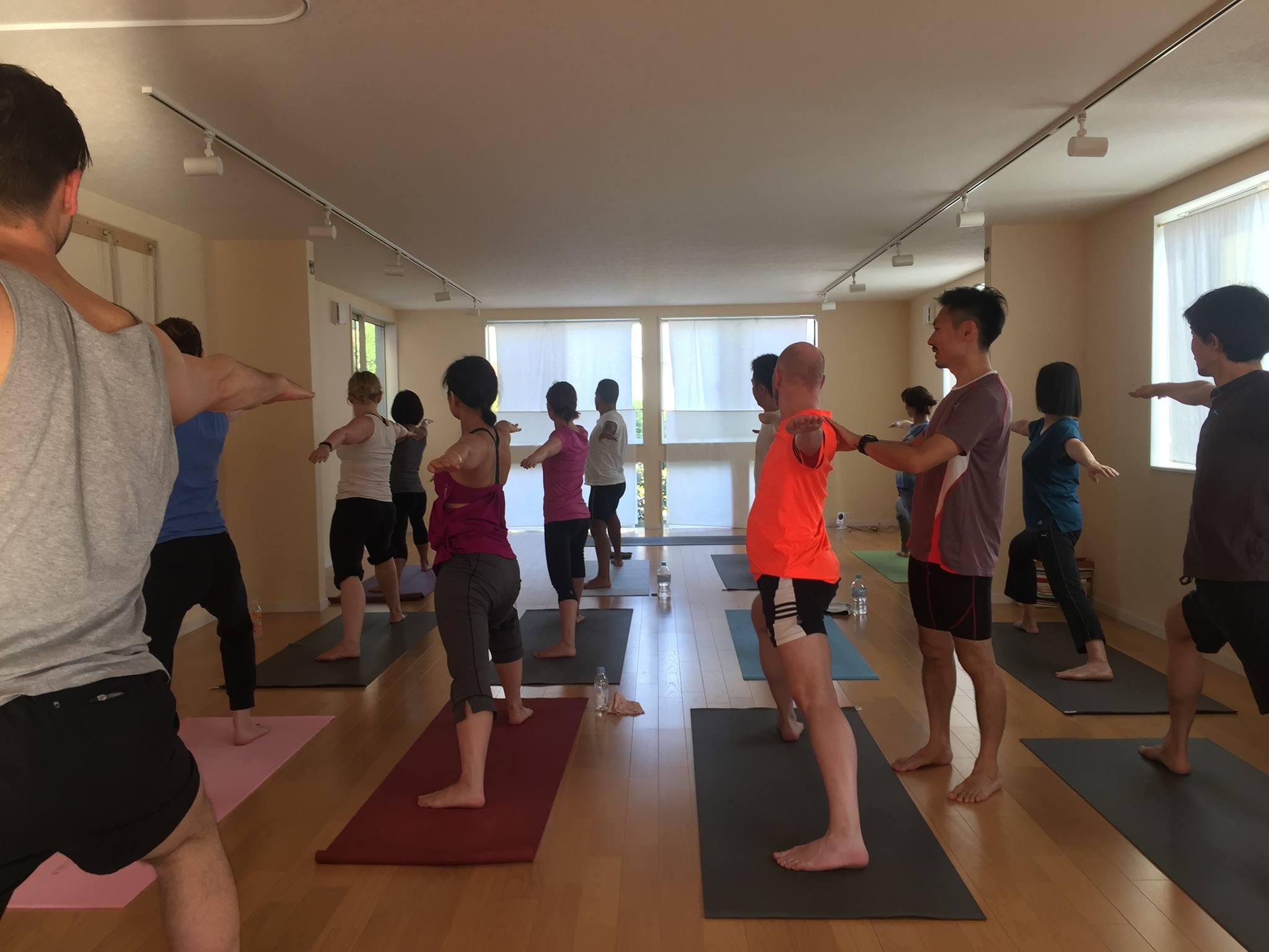 Yoga Tokyo in English Studio and Private Class