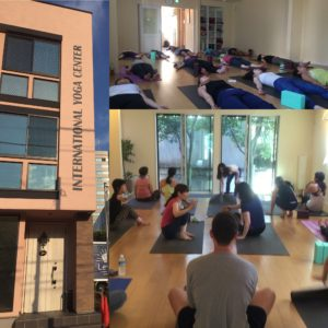Tokyo Yoga Studio taught in English at IYC Omotesando