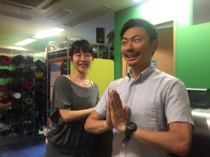 Tom Yoga with Yin Yoga Misato at IYC TOKYO